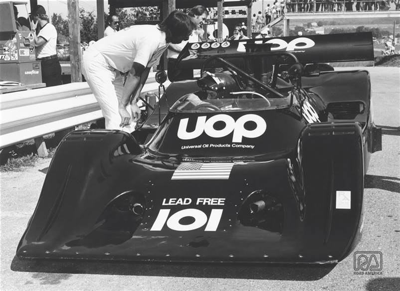 1974 ICKX in Pits Banner (GG)
