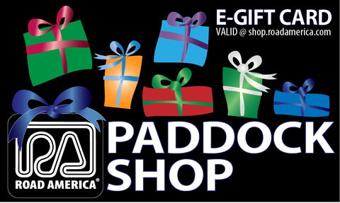 PADDOCK SHOP E-Gift Card ($10-$100)