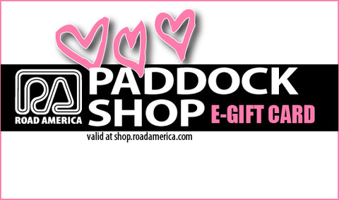 PADDOCK SHOP Valentine's Day E-Gift Card ($10-$100)