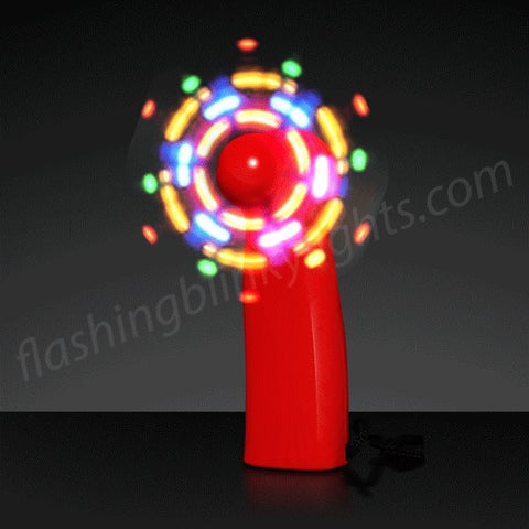 LED Red Mini Fans
