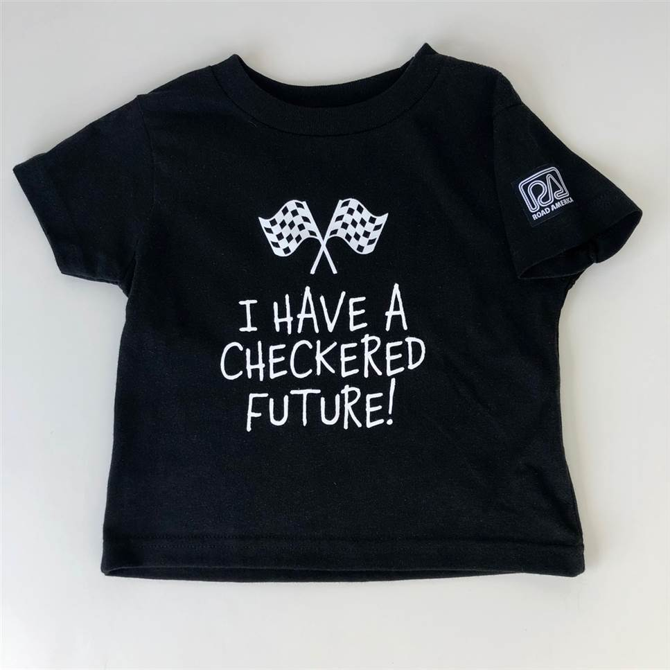 Checkered Future Toddler Tee