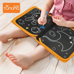Tumama Portable Chalk Board Drawing Book