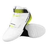 Unihoc white U4 Goalie Shoes - DekGoalie