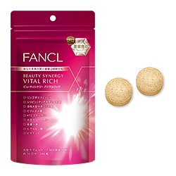 Fancl Super supplement◆Beauty Synergy Vital Rich 240 tables for 30days◆