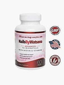 Hair, Skin & Nails Formula - Strong Healthy Hair and Nails, Younger Looking Skin