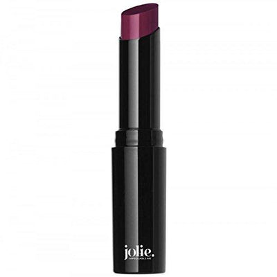 Jolie Hydrating Lip Balm Lipstick - Shiny, Sheer Luminous Color (Black Currant) Black Currant