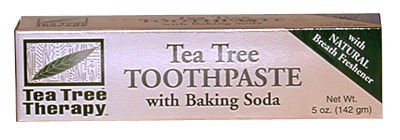 Toothpaste, Tea Tree w/Baking Soda, 5 oz.