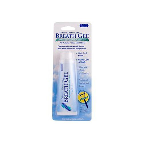 Pureline Oralcare Breath Gel Concentrated Mouthwash Minty Fresh -- 1.25 oz