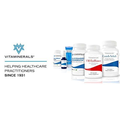 """VITAMINERALS 39 Stress Complex Adrenal Support Stress and Adrenal Support Complex 60 Count"""