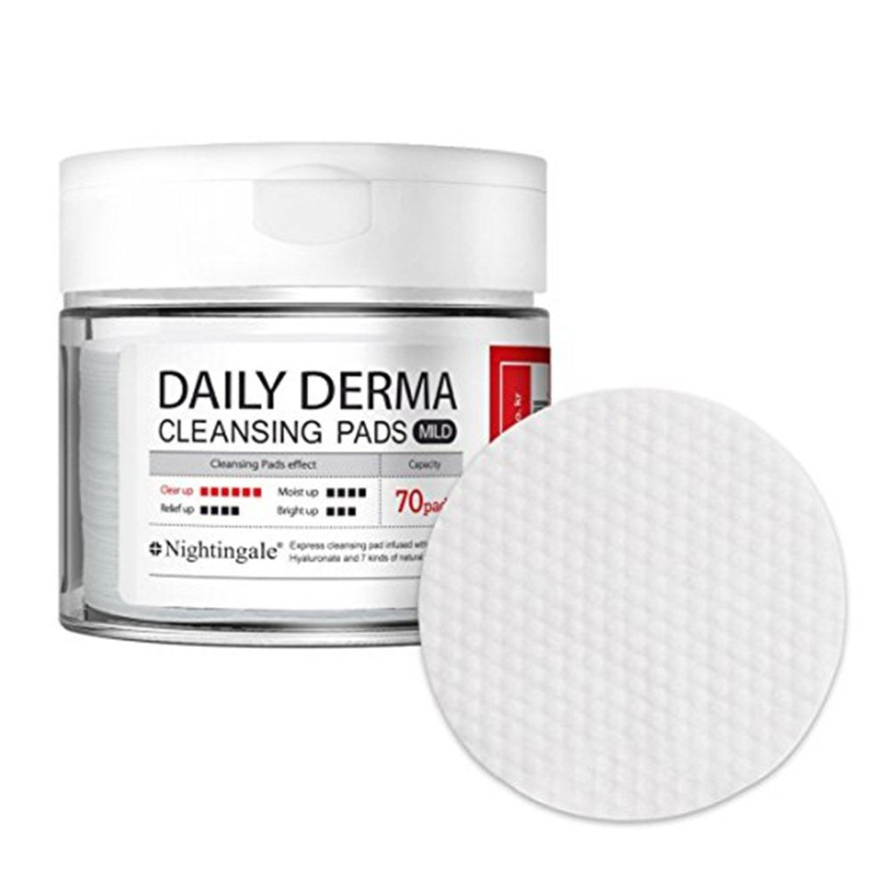 Nightingale Daily-Derma Cleansing Pads 70pads