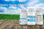 #1 Brain Function Booster Nootropics Formula - Memory, Focus & Clarity - Nootropic Scientifically Formulated for Peak Mental Performance Guaranteed