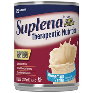 Suplena with Carb Steady Nutritional Supplement ( SUPLENA W/CARB STEADY, VAN, 8OZ CAN ) 24 Each / Case