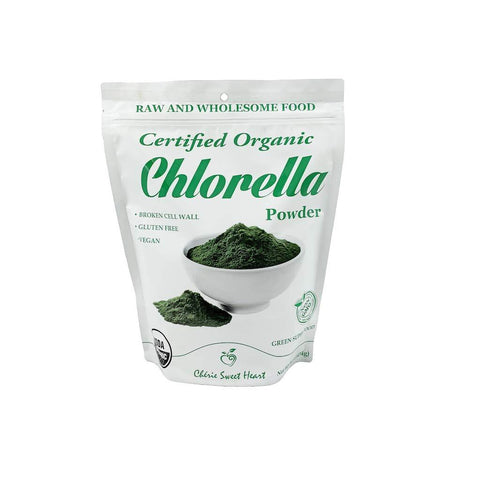 Chérie Sweet Heart Organic Chlorella Powder (Broken Cell Wall), 1 lb