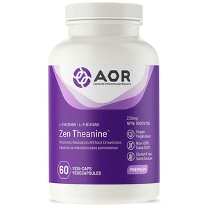 Zen Theanine (120 VeggieCaps) Brand: A.O.R Advanced Orthomolecular Research