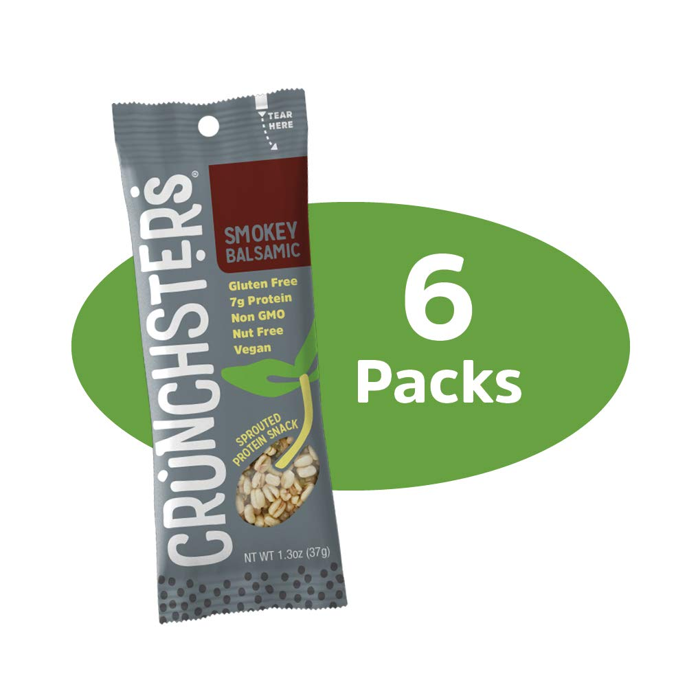 Crunchsters Snack, 1.3oz., Smokey Balsamic, 6-Pack 1.3 Ounce bag, (6-Pack)