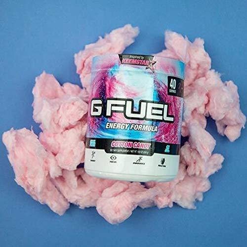 G Fuel Cotton Candy Tub (40 Servings) Elite Energy and Endurance Formula 9.8 oz.