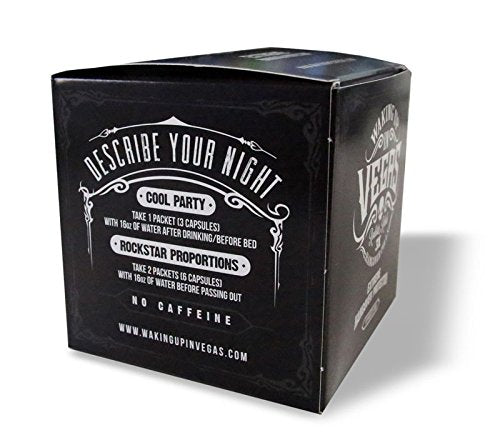 WAKING UP IN VEGAS - Extreme Hangover Protection You Can Trust (10-pack)
