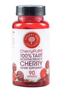 Cherrypure 100% Tart Montmorency Cherry Antioxidant Supplement Capsules, 90 Count 1