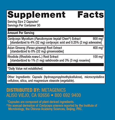 Metagenics - Adreset, 60 Count