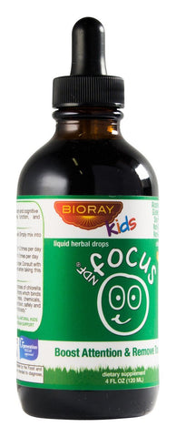 Focus Supplement for Kids by Bioray | NDF Focus Supports Cognitive Function, Enhances Clarity, Promotes Steady Energy Levels and More | 4 fl oz