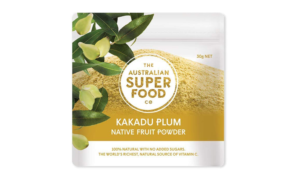Kakadu Plum Freeze Dried Powder | 100 Percent Natural no Added Sugar | the World's Richest Natural Source of Vitamin C by the Australian Superfood Co | 30 Gram