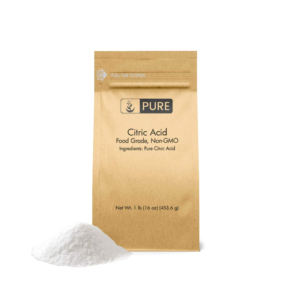 Citric Acid (1 lb.) by Pure Organic Ingredients, Eco-Friendly Packaging, All-Natural, Highest Quality, Pure, Food Safe, Non-GMO