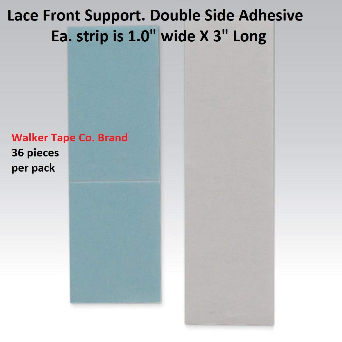 "Walker Tape Tape 1""X 3"" Lace Front (Pack of 2)"