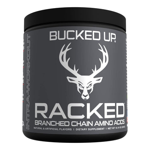 "RACKED™ Branch Chained Amino Acids - Pina Colada Flavor -""BCAAs That You Can Feel!"" Powder, 30 Servings"