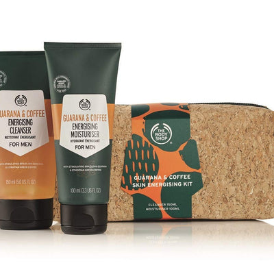 The Body Shop Guarana & Coffee Skin Energizing Kit Gift Set