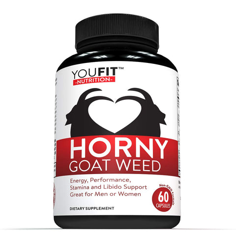 Extra Strength Horny Goat Weed Extract With Muira Puama Maca Root L Arginine Tribulis Tonkat Ali Ginseng 1000mg Epimedium & Icariins For Men or Women Supports Stamina, Performance and Energy Boost