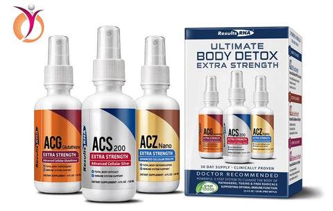 Results RNA Ultimate Body Detox Extra Strength | Unparalleled Immune System Support - 2oz, 3 Count 2 Ounce