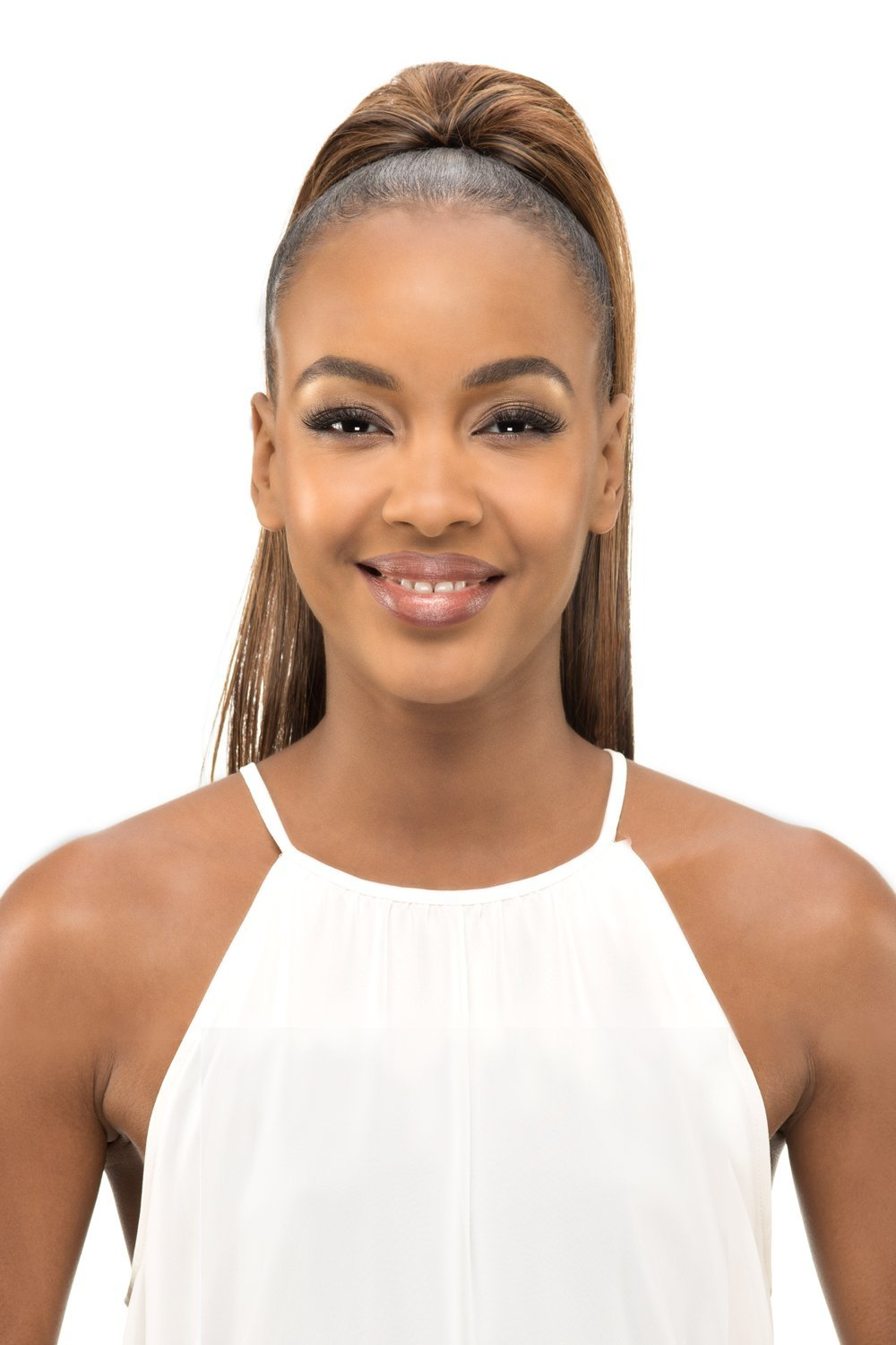 Vivica A Fox Hair Collection PB65-V New Futura Synthetic Fiber Pocket Bun, P4/27/30, 7.7 Ounce
