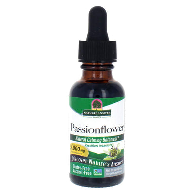 Nature's Answer Alcohol-Free Passionflower, 1-Fluid Ounce