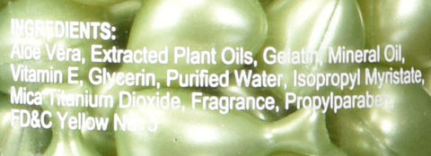 Aloe Vera & Vitamin E Skin Oil, 90 green Capsules