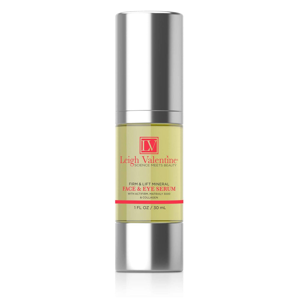 Leigh Valentine Skin Care - Premium Face and Eye Serum - Revitalizing Firm and Lift formula for Youthful Skin