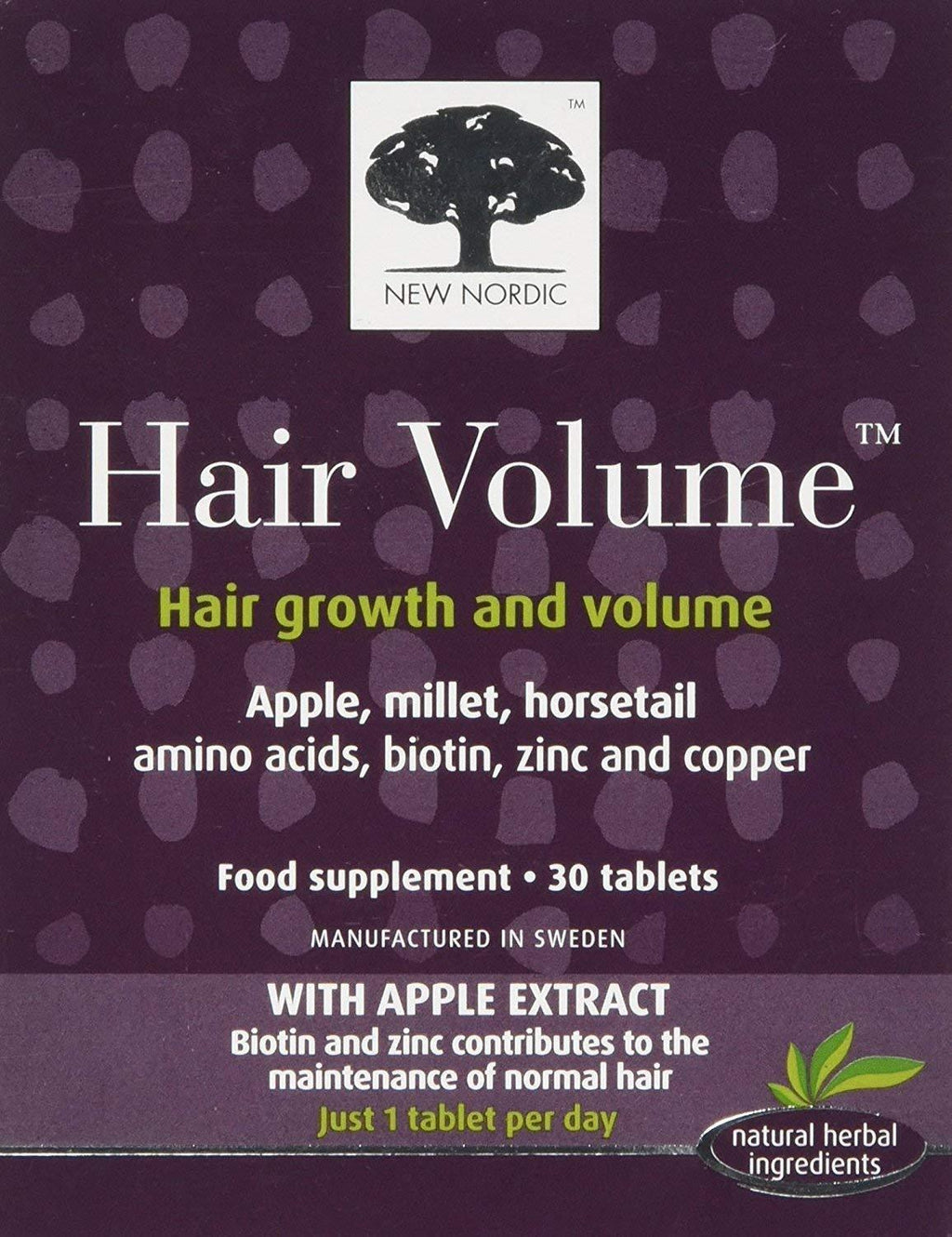 (2 Pack) - New Nordic - Hair Volume | 30's | 2 PACK BUNDLE