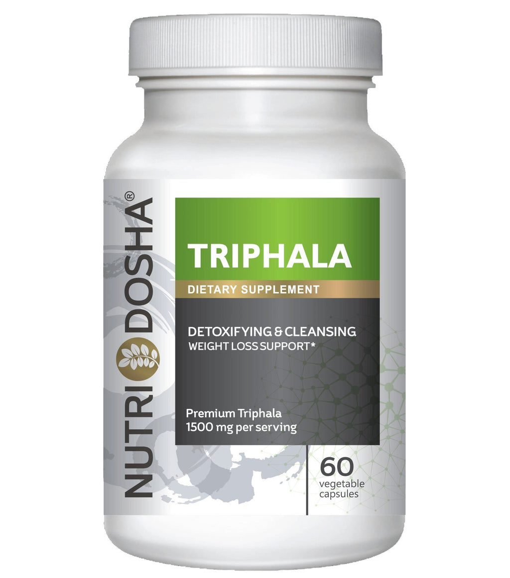 #1 Pure Premium Triphala, 1500mg Serving, Potent Yet Gentle Super Antioxidant Colon Cleanser & Detoxifier for Digestion & Regularity. Ayurveda Blend, Vegan Friendly Capsules. Gold Std. Trifala Churna