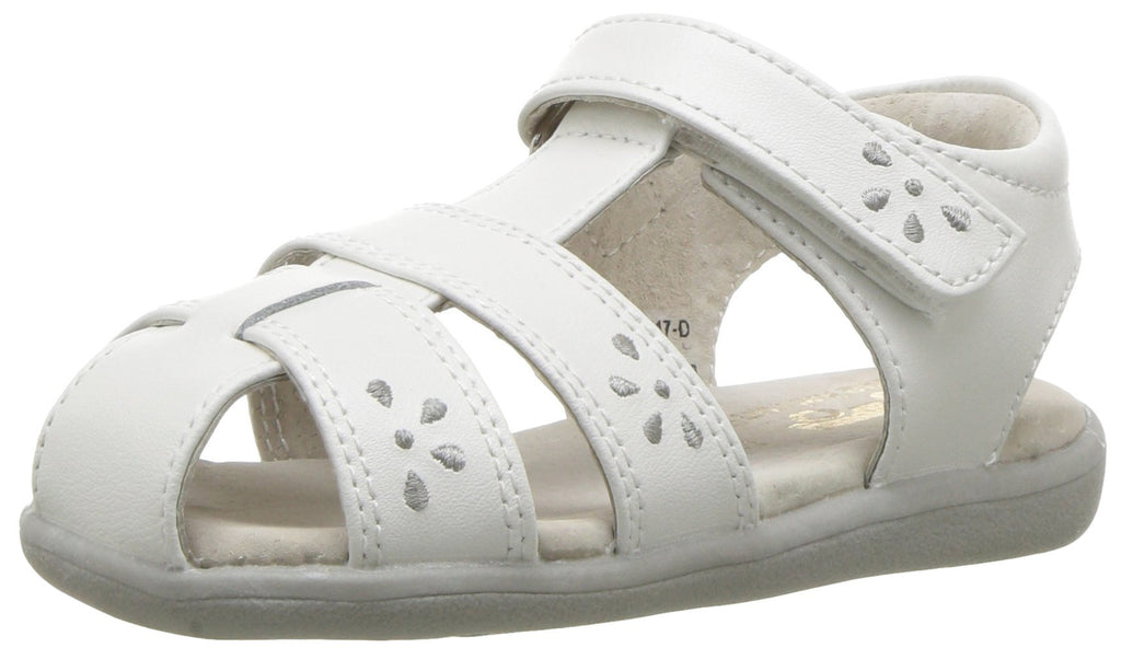 See Kai Run Kids' Gloria III Fisherman Sandal Toddler (1-4 Years) 9 Toddler White