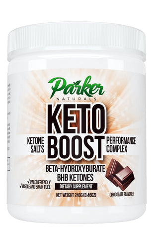 Exogenous Ketone Weight Loss Supplement: Parker Naturals Beta Hydroxybutyrate BHB Salts for Ketosis, Energy, Fat Burning & Focus - Healthy Ketogenic Diet Mix with Magnesium & Calcium - Chocolate