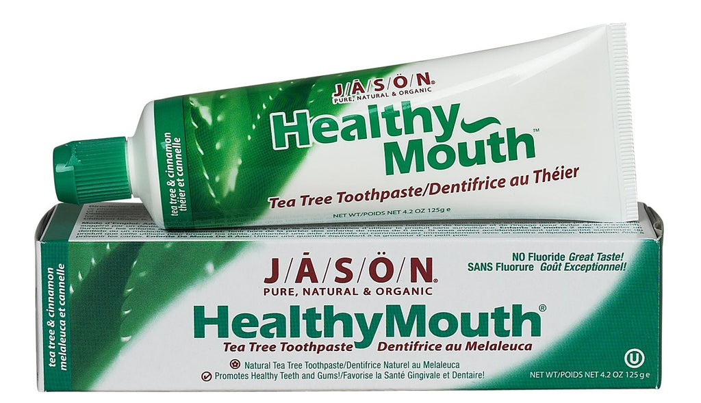 Toothpaste, Healthy Mouth, Tea Tree & Cinnamon, 4.2 oz.
