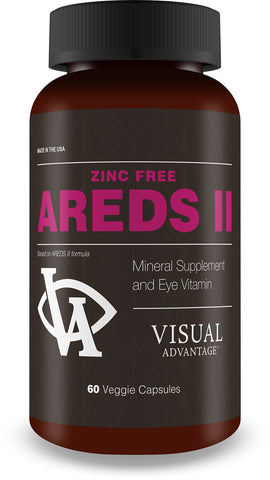 Zinc Free AREDS 2 for Eye Health - 3 Month Supply - Based on the Areds II Study but Without Zinc