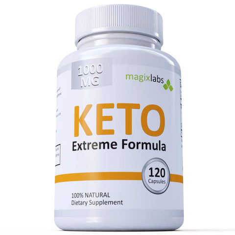 Keto Extreme Formula: Highest Potency - Jumpstart & Maintain Ketosis – Full 60 Day Supply.