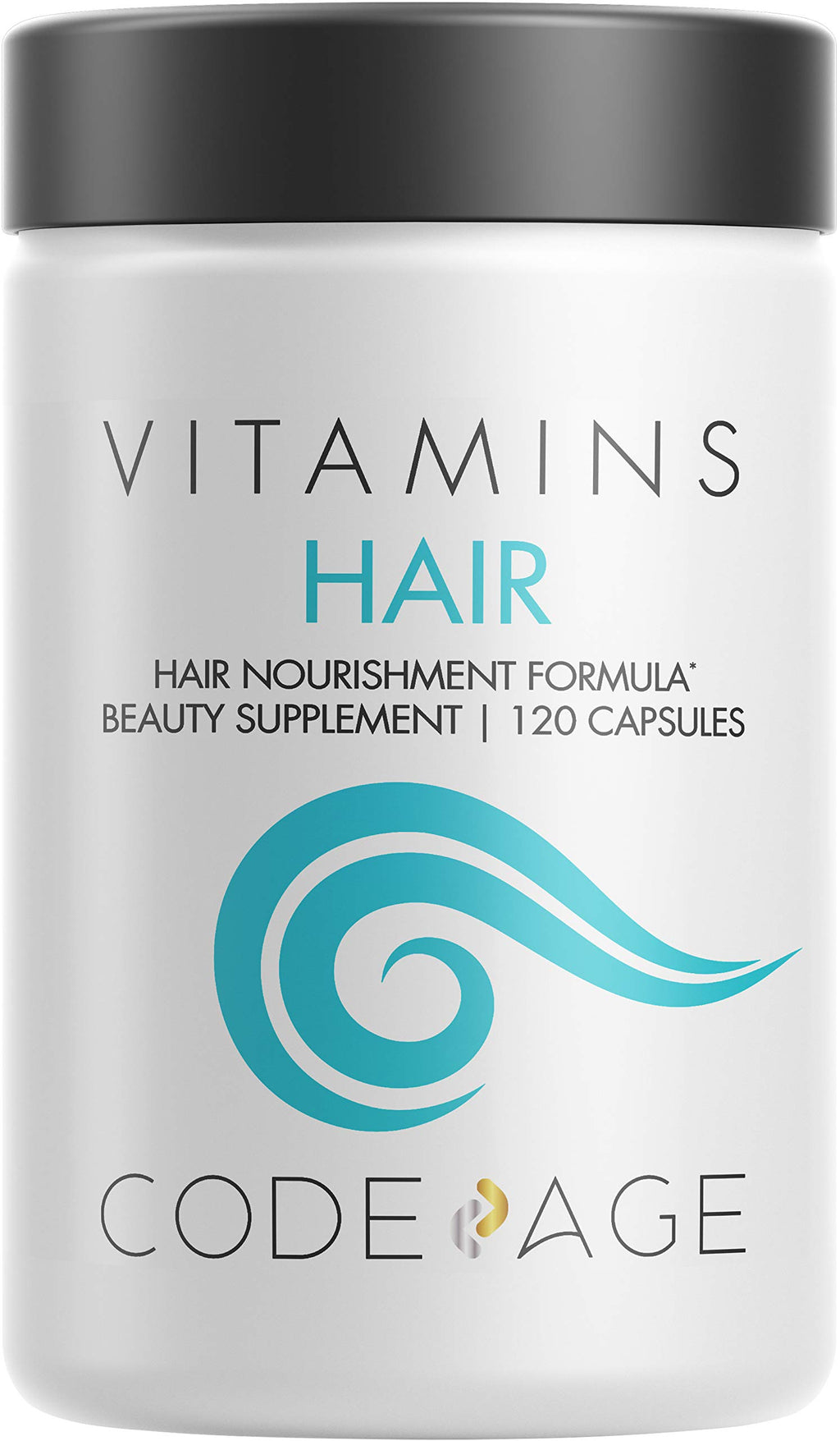 Hair Vitamins, Biotin, Keratin Supplement –Collagen, Vitamin A, B12, C, D3 & E - Zinc, Probiotic, Omega-3, Enzymes - Hair Care Pills – All Hair Colors & Types - Natural, Non-GMO - 120 Capsules