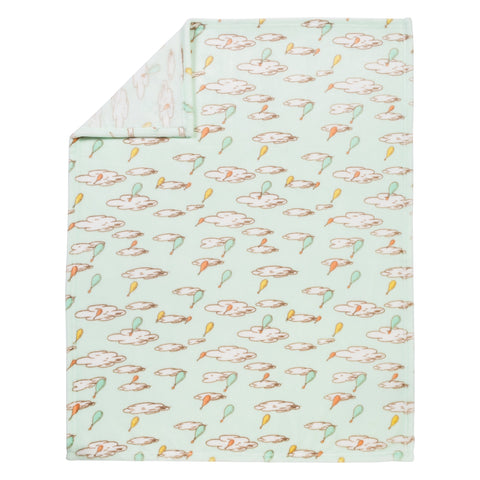 Trend Lab Plush Baby Blanket, Multi Dr. Seuss Oh The Places You'll Go! Multi Dr. Seuss Oh The Places You'll Go!