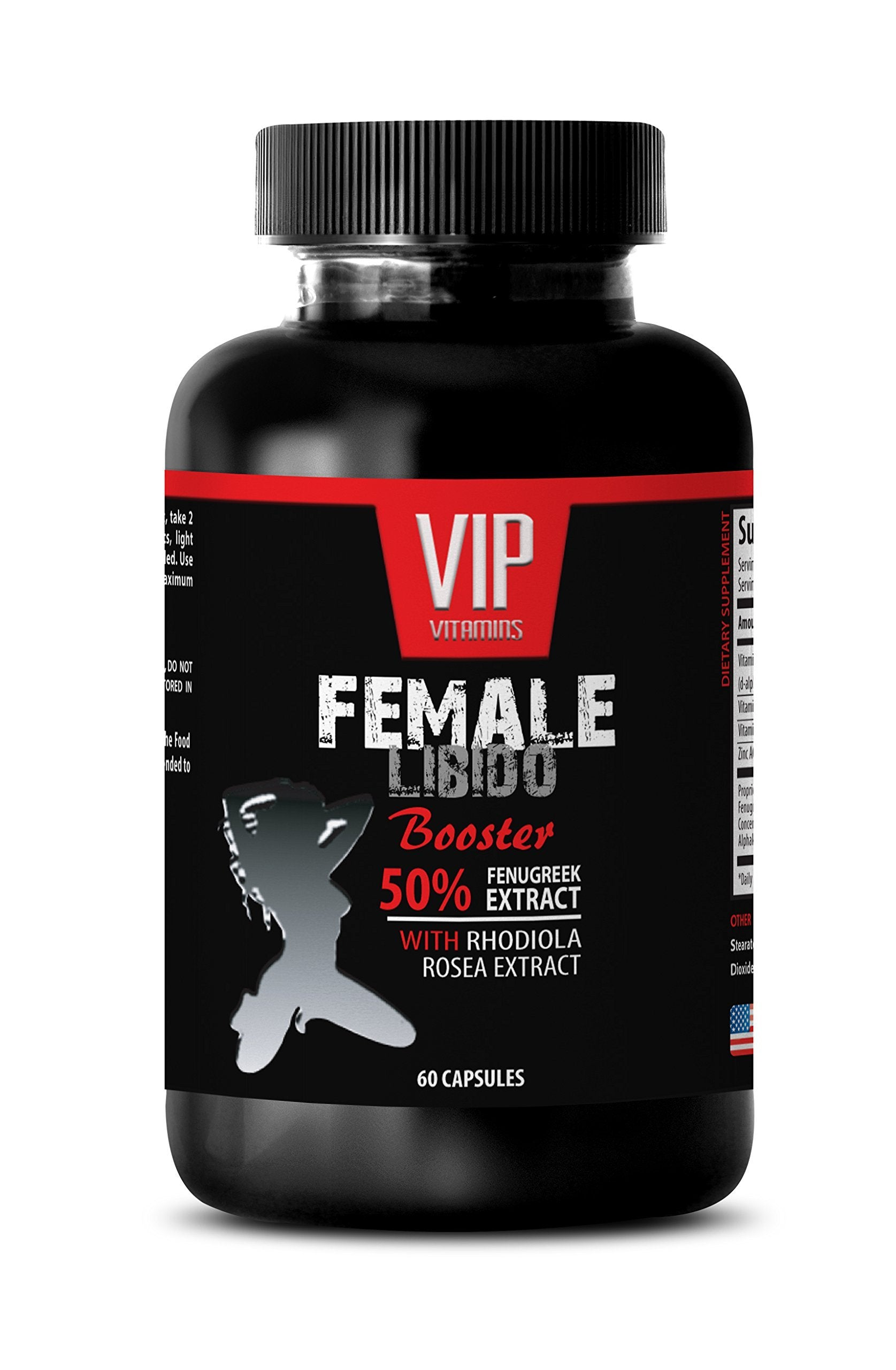 Sexual Enhancement for Women - Female LIBIDO Booster Pills - Fenugreek Extract for Women - 1 Bottle 60 Capsules