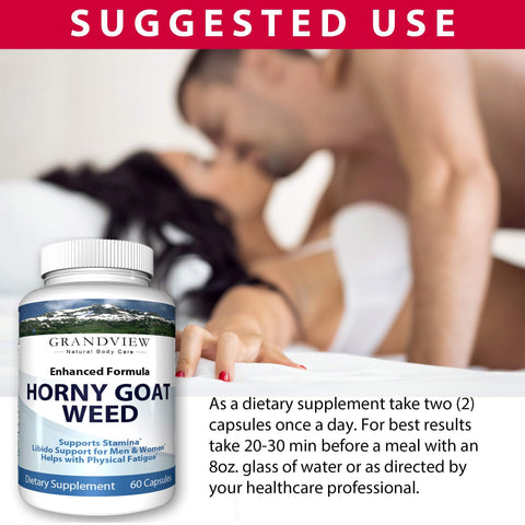 Premium Horny Goat Weed for Men with Maca Root - Best Performance & Natural Boost