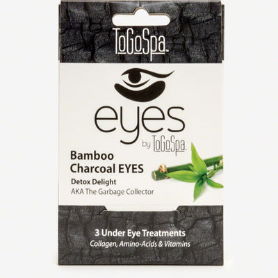 Bamboo Charcoal Premium Anti Aging Clean Collagen Gel Pads - Puffiness Dark Circles and Wrinkles Under Eye Rejuvenation