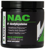Pure N-Acetyl L-Cysteine (NAC) Powder - Liver Health and Cellular Support, Bulk Supplements, NAC for Bodybuilding and General Wellness and Antioxidant Supports Glutathione, 3.5 Ounce
