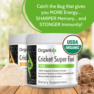 Cricket Super Fuel by Organixx (Pure)
