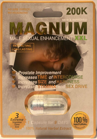Magnum 200K XXL Silver Power Limited Edition (24)